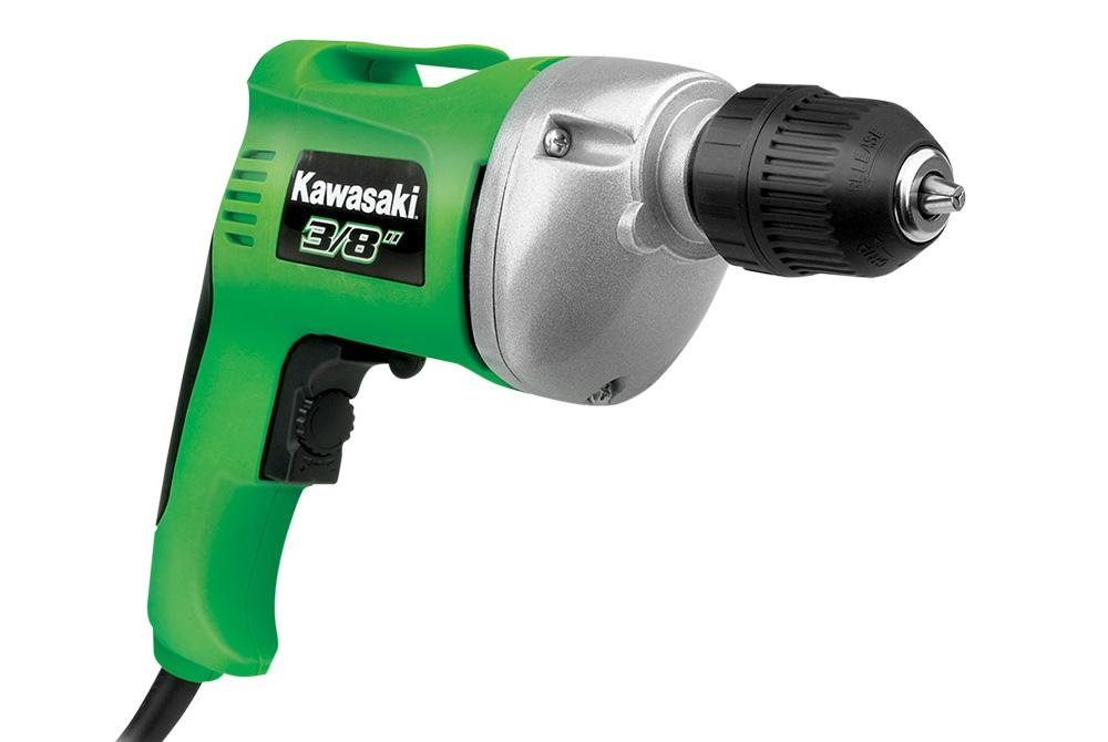 Kawasaki 840176 3/8 in. Variable Speed Drill/Driver – Keyless Chuck