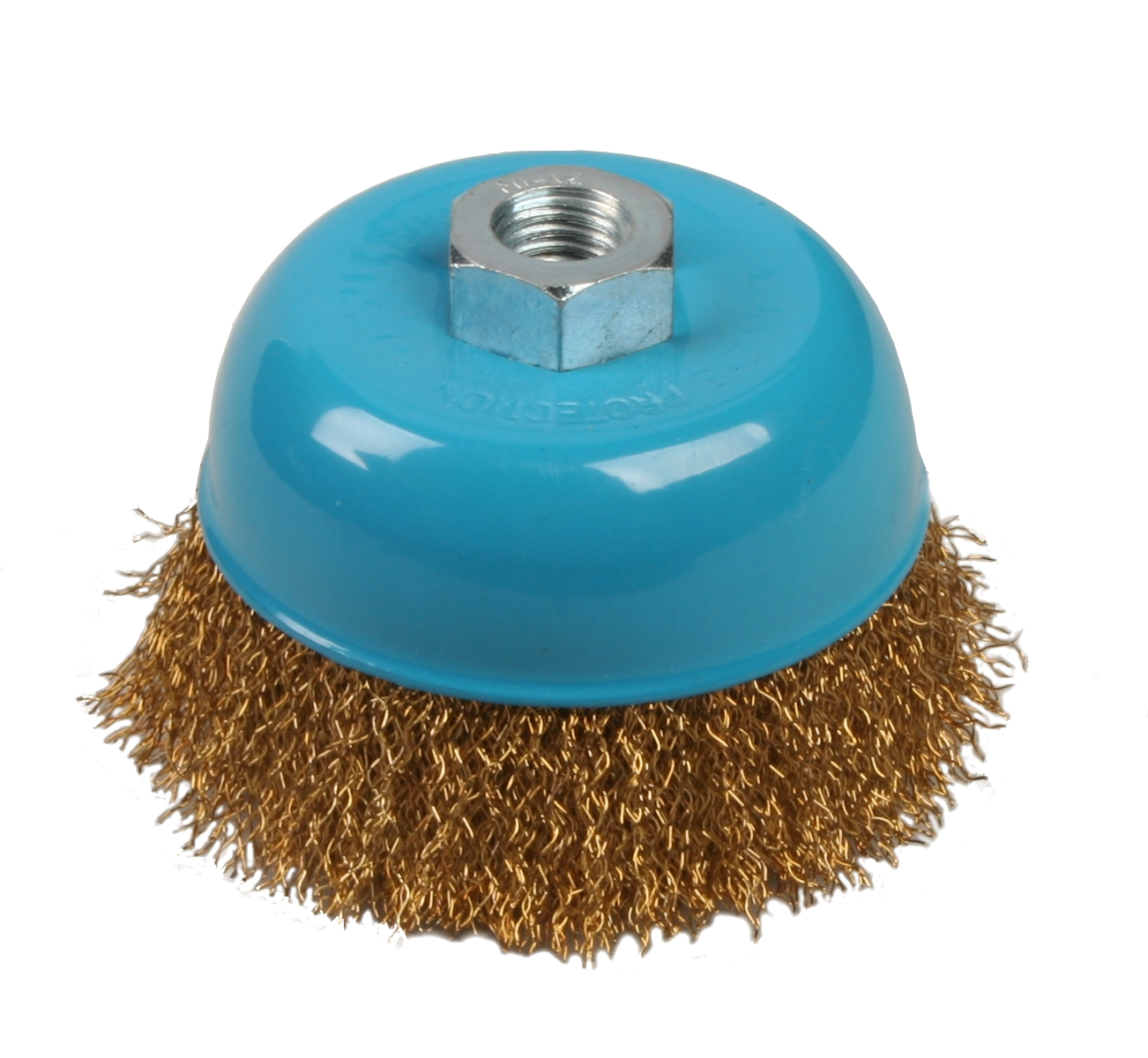 Brufer 95115 4″x14mm Wire Cup Brush