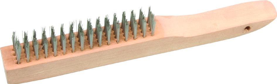 Brufer CEPI-616 Wood Handle Steel Wire Brush